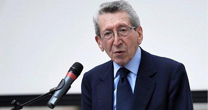 Sergio Romano, ex Ambasciatore d'Italia a Mosca, editorialista del Corriere della Sera