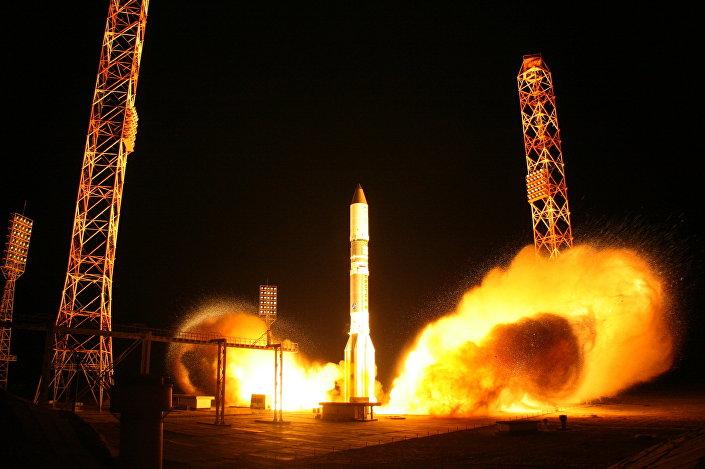 Lancio del razzo vettore Proton-M
