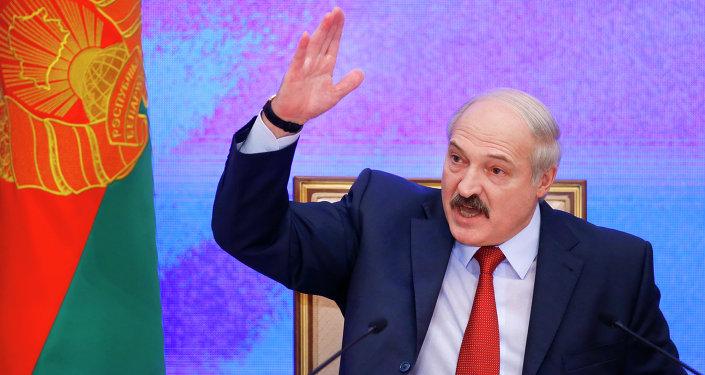 Alexander Lukashenko, presidente della Bielorussia