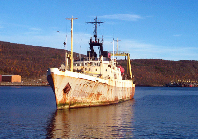 FISH TRAWLER KOLA GULF