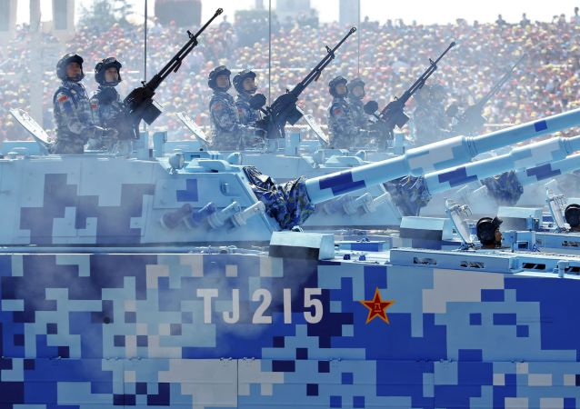 La parata militare della Vittoria a Pechino.