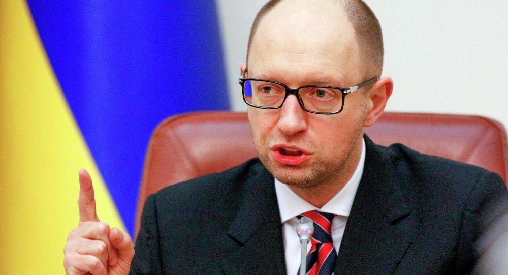 Arseniy Yatsenyuk, primo ministro dell'Ucraina