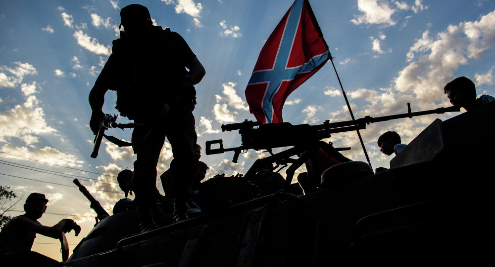 Milizie del Donbass (foto d'archivio)