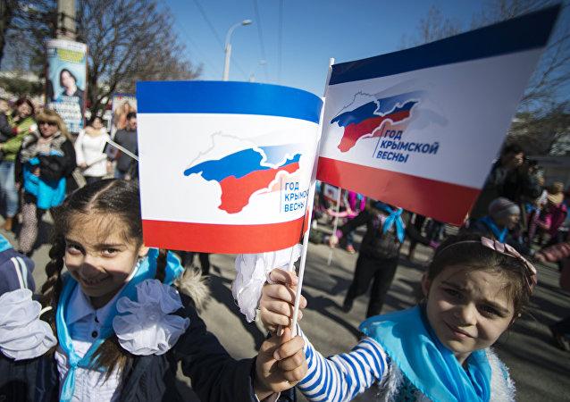 Riunificazione della Crimea con la Russia (foto d'archivio)