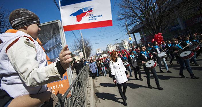 Crimea, Simferopoli festeggia un anno da citta russa