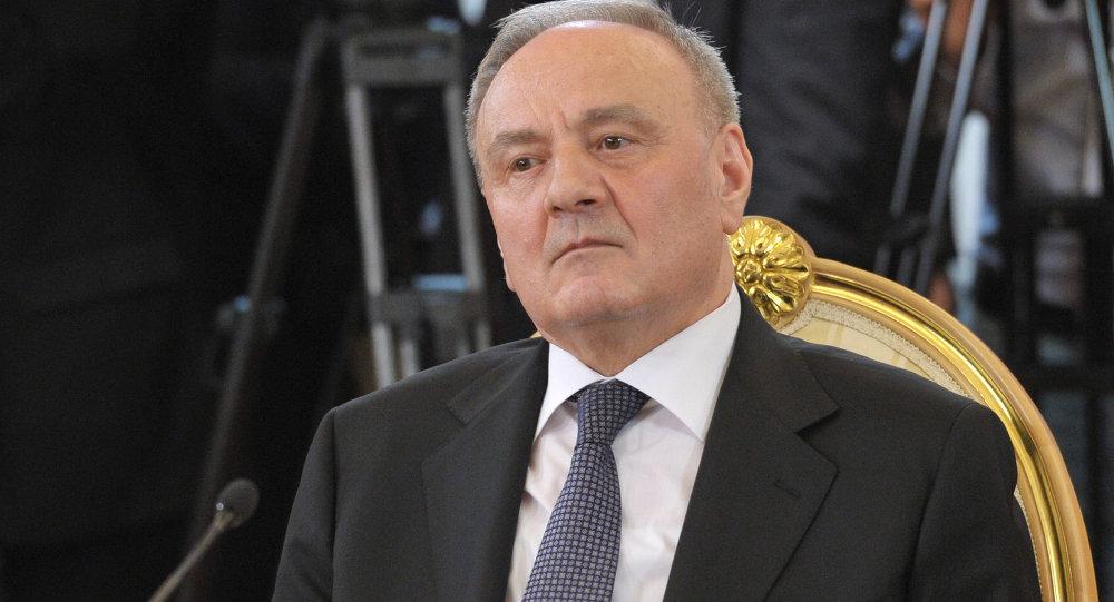 Presidente della Moldavia Nicolae Timofti