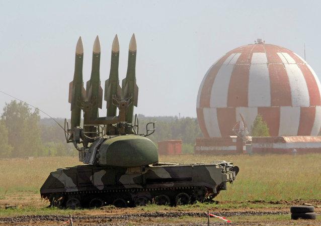 Il sistema missilistico Buk-M2