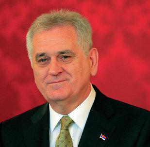 Presidente della Serbia Tomislav Nikolic
