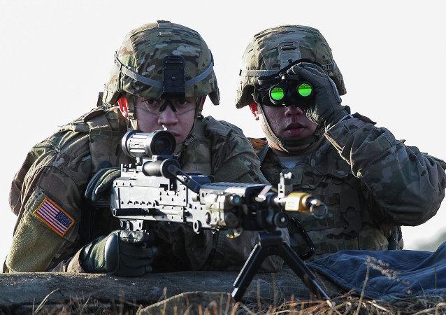 Esercito USA (foto d'archivio)