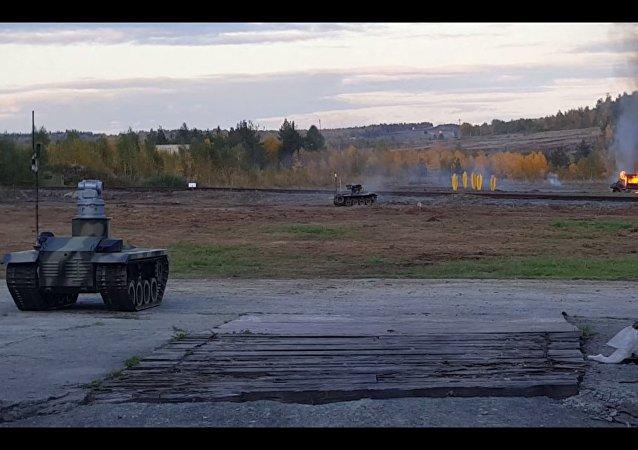 I robot da guerra russi