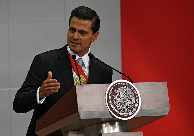 Presidente del Messico Enrique Peña Nieto