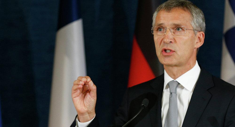 Il segretario generale della NATO Jens Stoltenberg
