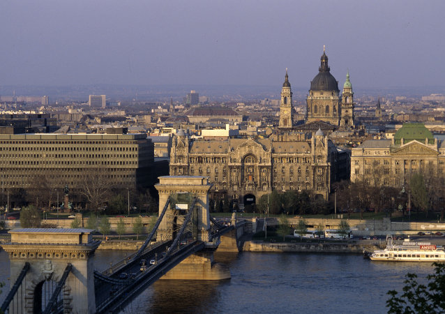 Panorama di Budapest, Ungheria