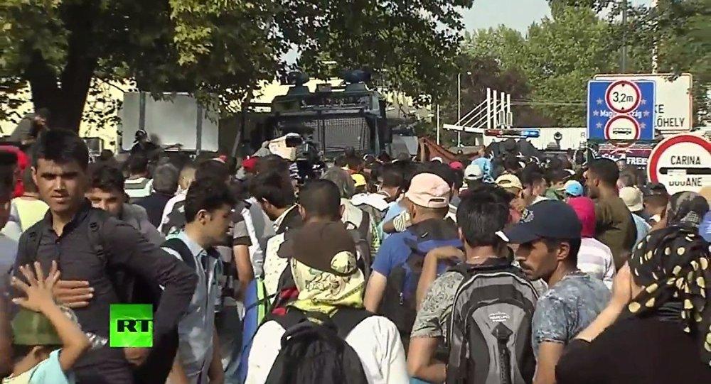 Tensione al confine serbo-ungherese