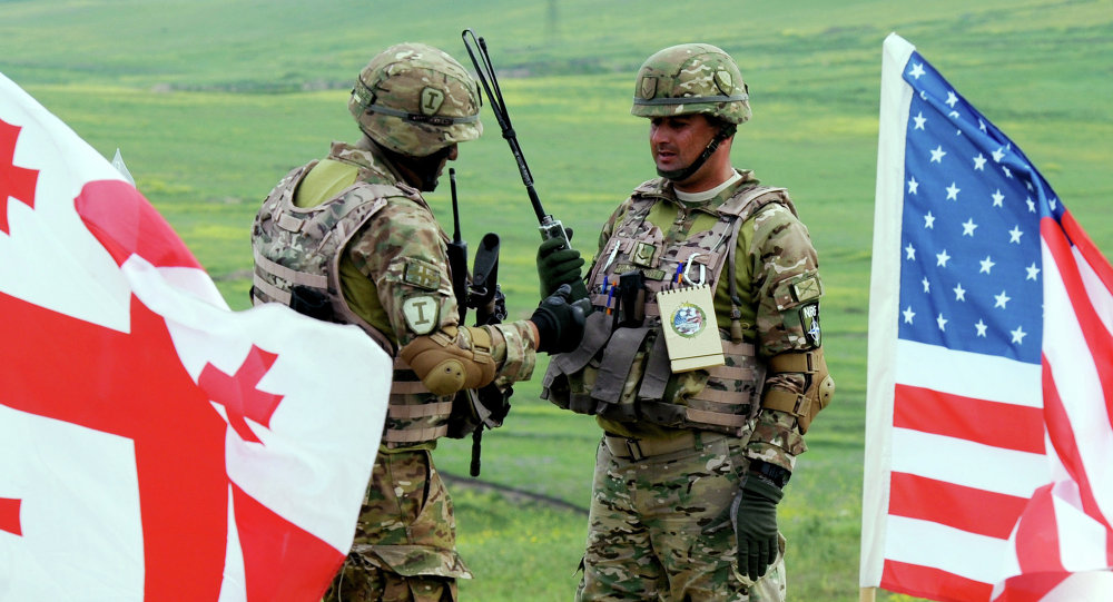 Esercitazioni militari di Stati Uniti e Georgia (foto d'archivio)