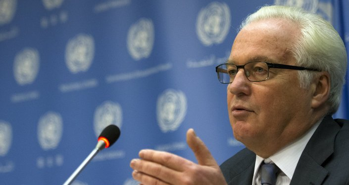 Vitaly Churkin, ambasciatore della Russia all'ONU