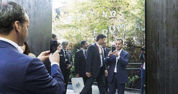 Arkadiy Dvorkovich all'EXPO di Milano
