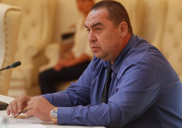 Igor Plotnitsky, presidente Repubblica Popolare di Lugansk
