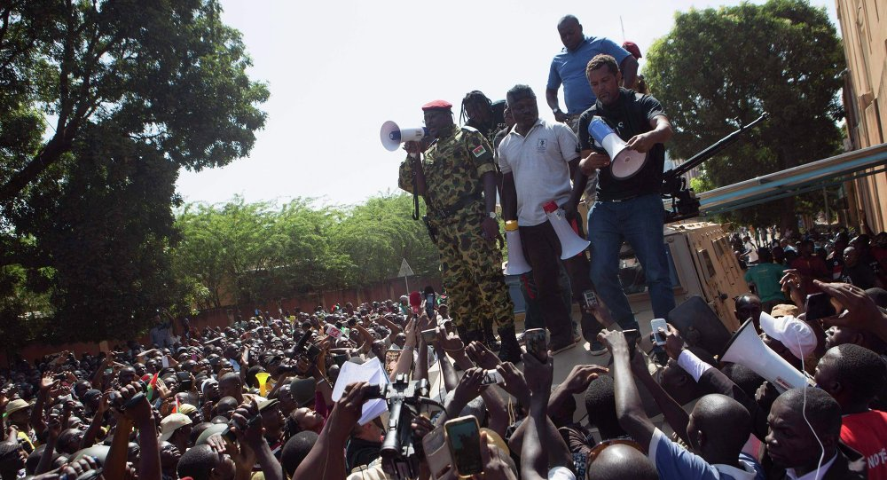 Proteste antigovernative in Burkina Faso