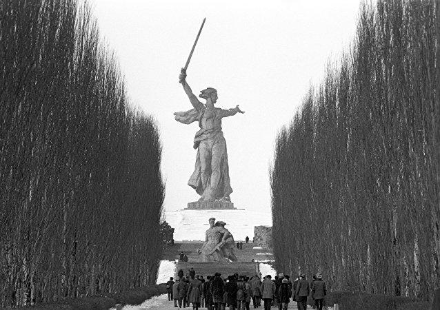 Monumento alla memoria dei Caduti dell'Armata Rossa a Stalingrado