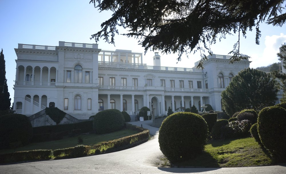 Il palazzo Livadia a Yalta.