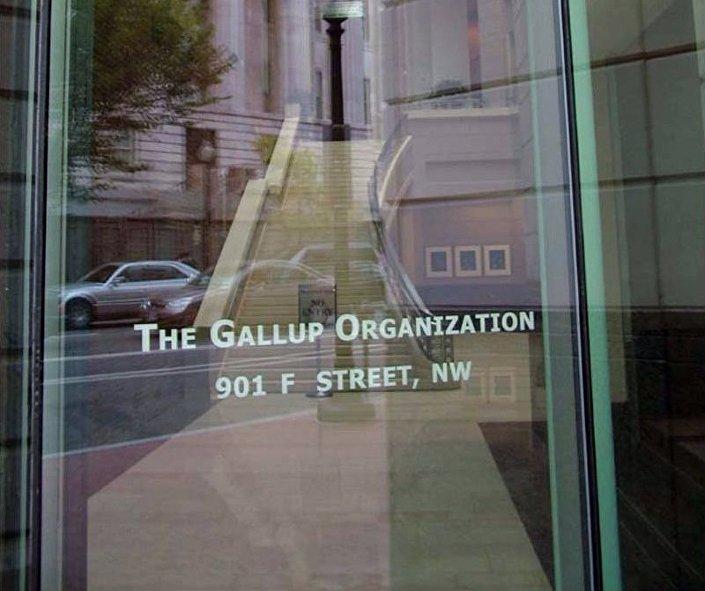 L'ufficio Gallup a Washington, USA