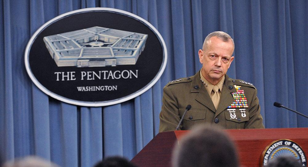John R. Allen, generale in pensione