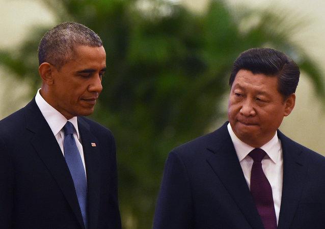 Barack Obama e Xi Jinping