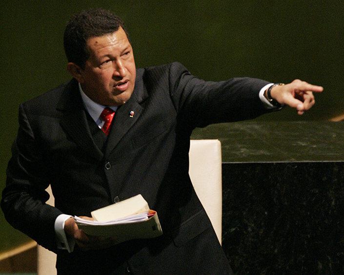 Ugo Chavez alla 61° assemblea dell'ONU