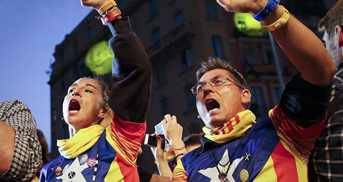 Indipendentisti catalani