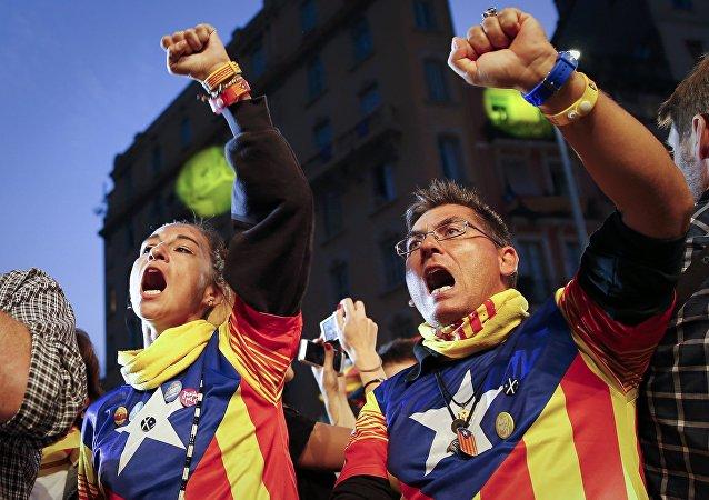 Indipendentisti della Catalogna