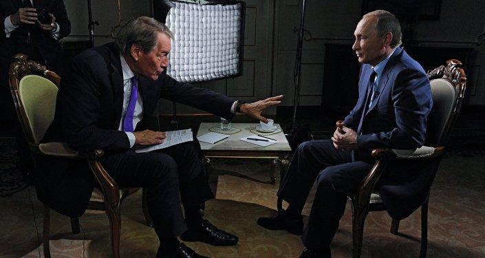 Putin intervistato alla CBS