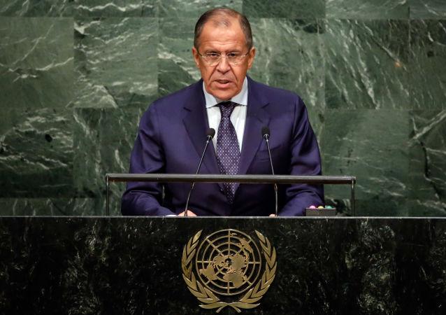 ONU, discorso di Sergej Lavrov