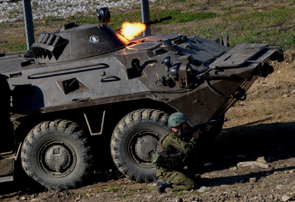 Esercitazioni antiterroristiche nel Territorio del Litorale.
