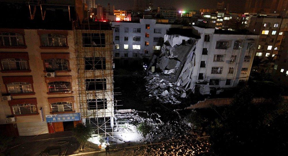Dopo un'esplosione in Cina
