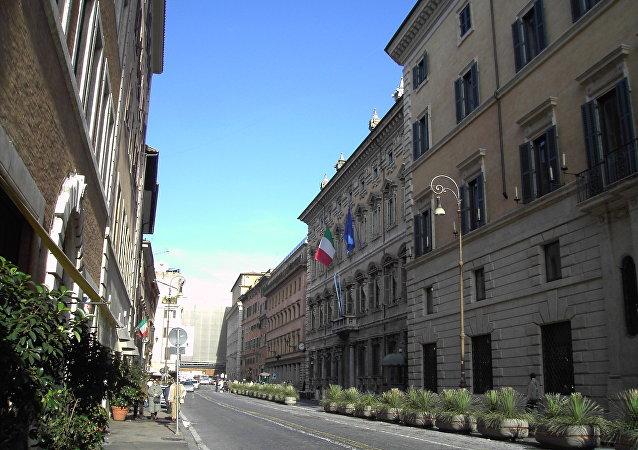 Palazzo Madama a Roma, la sede del Senato italiano
