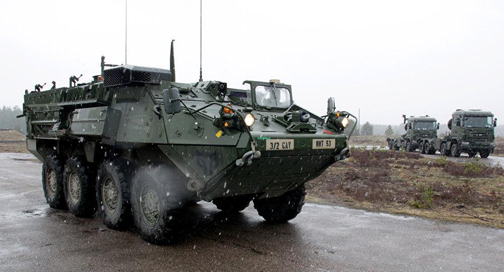 Mezzi armati russi in Europa