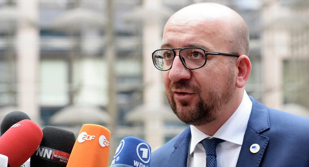 Charles Michel, primo ministro del Belgio