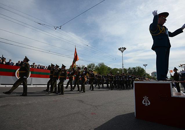 Tiraspol, Transnistria: festeggiamenti per la Liberazione ( Giorno della Vittoria 9 maggio)