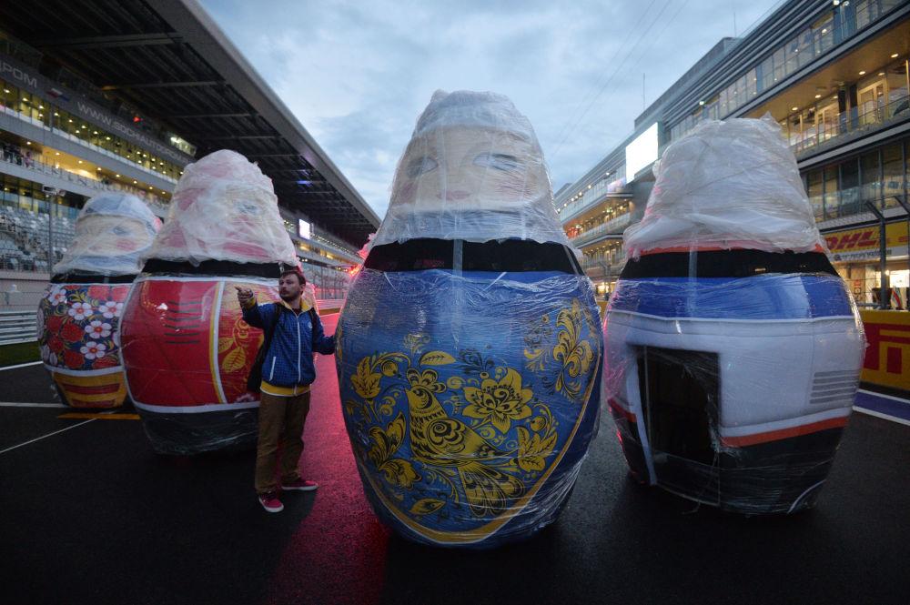 A Sochi tutto pronto per il GP di Russia.