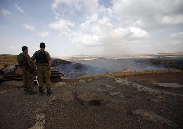 Soldati israeliani nelle alture del Golan (foto d'archivio)