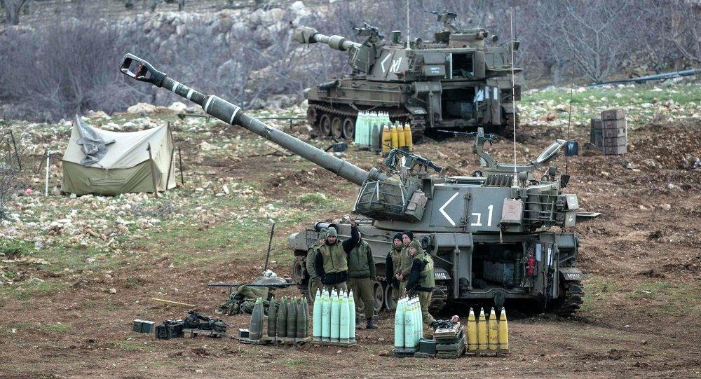 Soldati israeliani sulle Alture del Golan