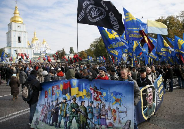 Estrema destra ucraina a Kiev