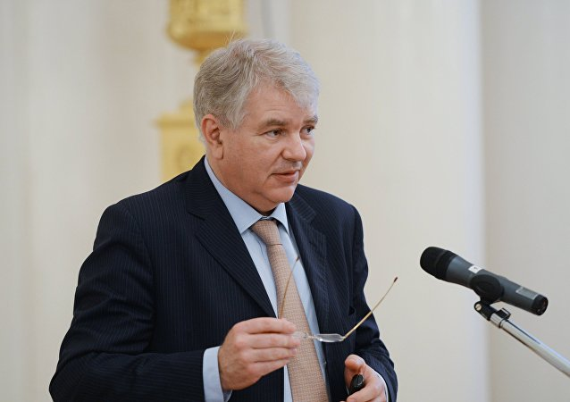 Il Vice-Ministro degli Esteri russo Alexei Meshkov