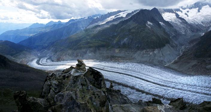 Il ghiacciaio più grande delle Alpi