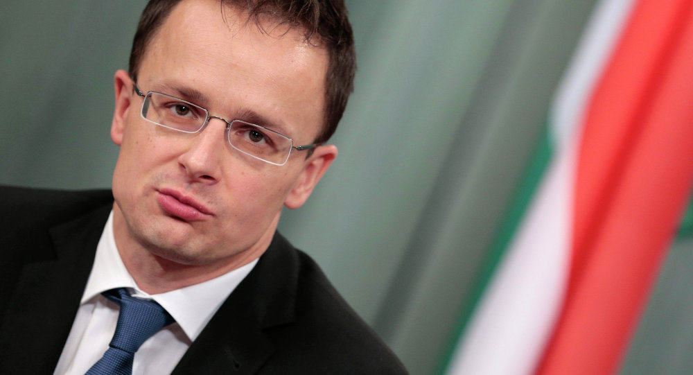 Ministro degli Esteri ungherese Peter Szijjarto