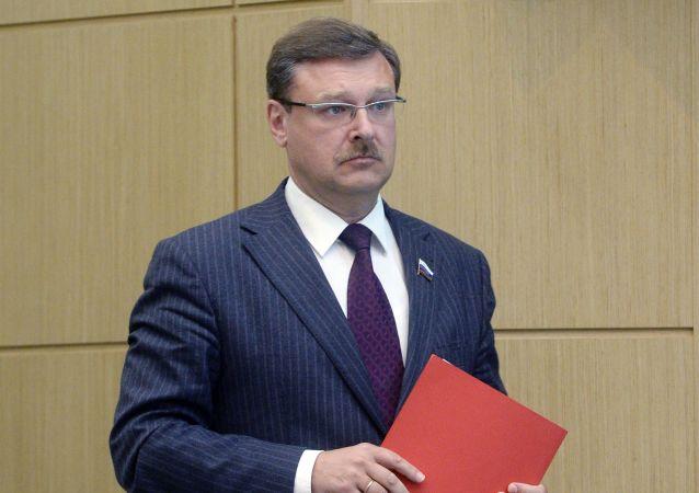 Konstantin Kosatchev, presidente Commissione Esteri del Consilgio della Federazione