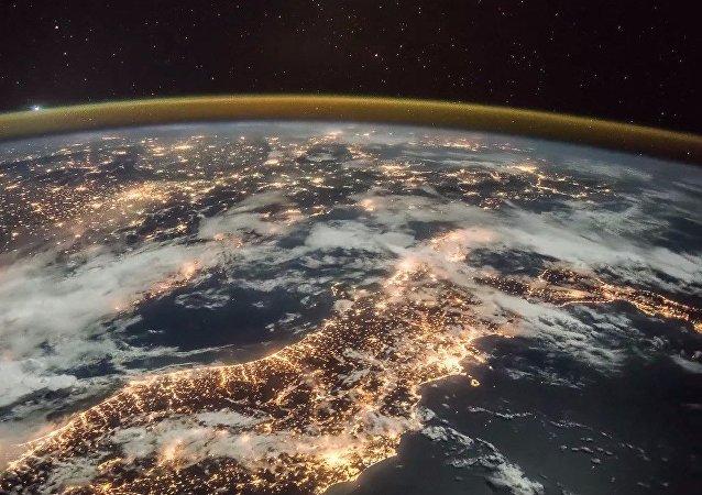 Il pianeta dall'ISS