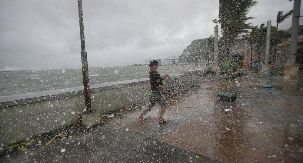Tifone alle Filippine