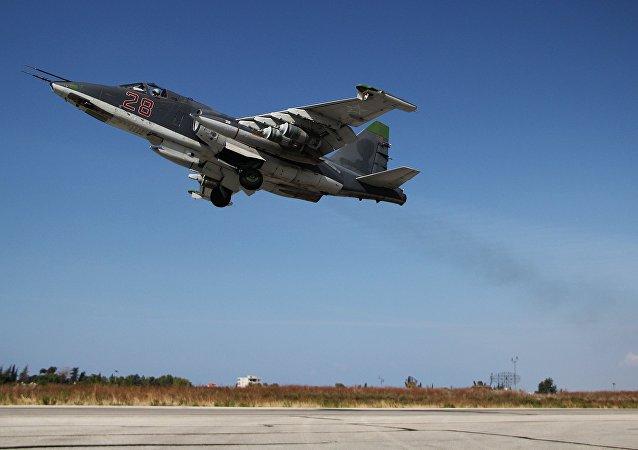 Caccia russo Su-25 in Siria